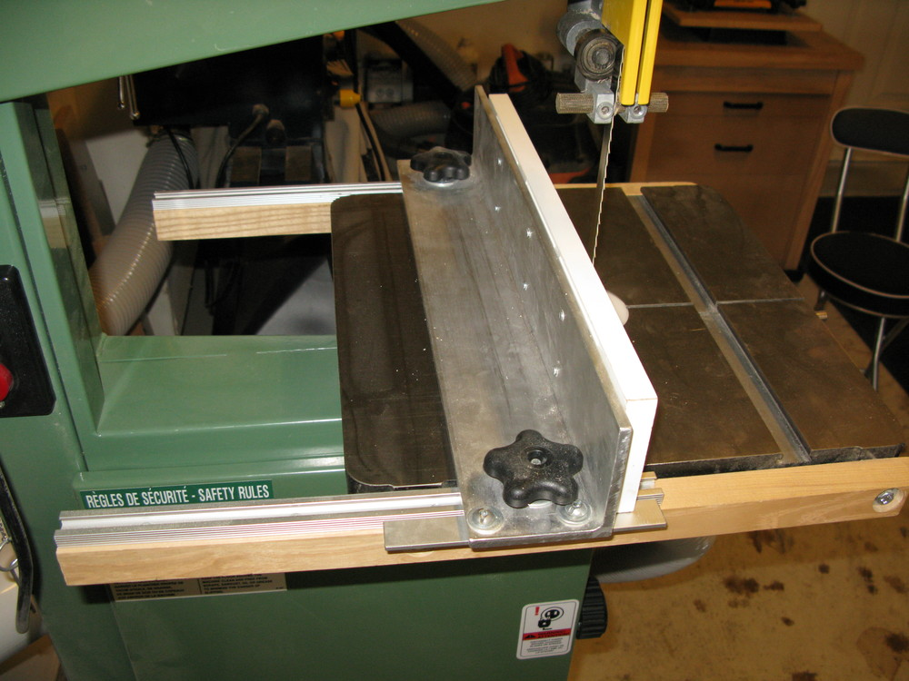 Diy Table Saw Rip Fence Shop-made Bandsaw Fence | Making Splinters