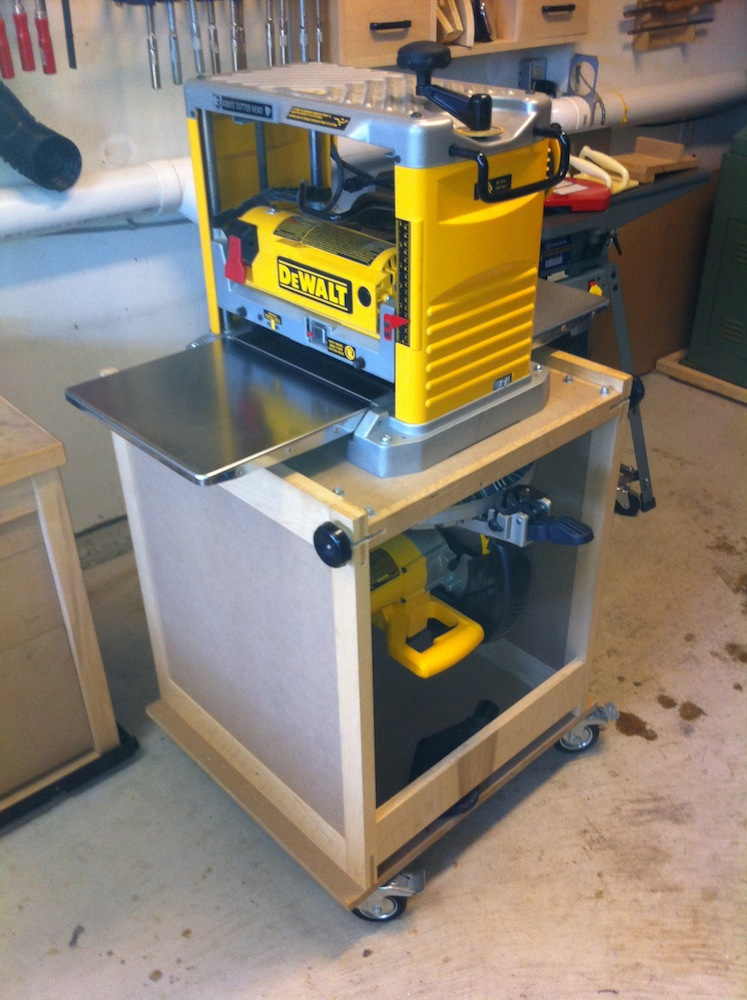 Homemade Flip Top Tool Cart Car Interior Design