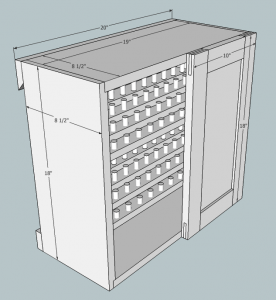 Small Shop Cabinet
