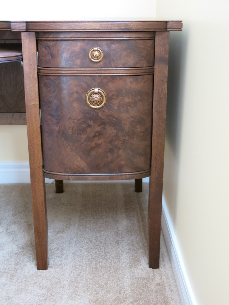 Drawer front detail