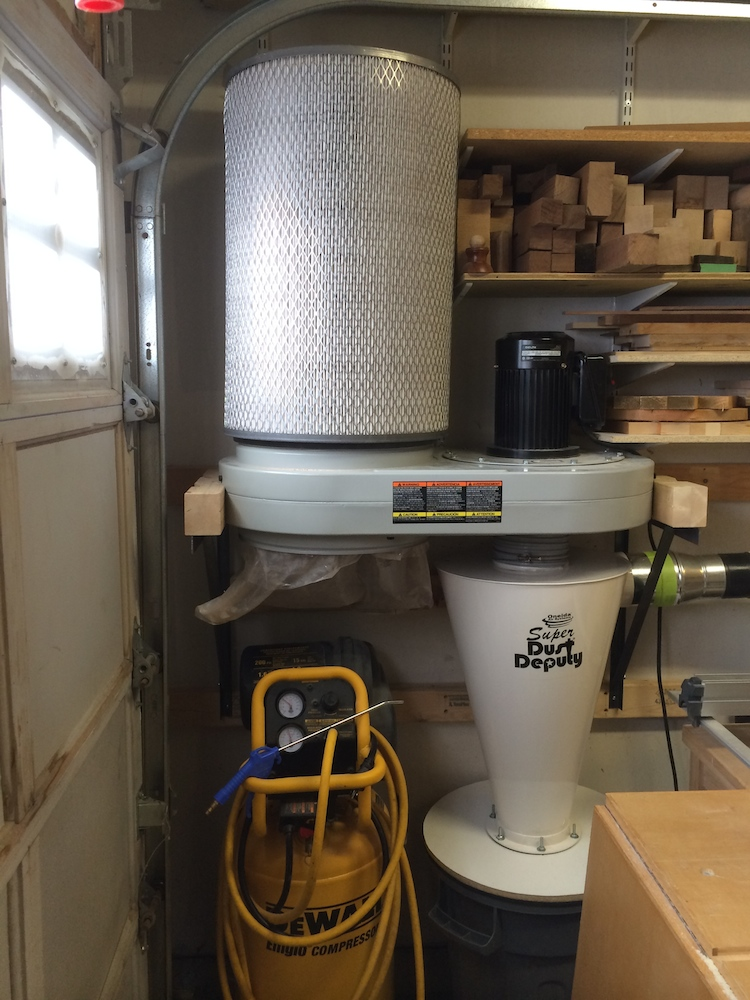 Upgrading a Delta 50-760 Dust Collector with an Oneida