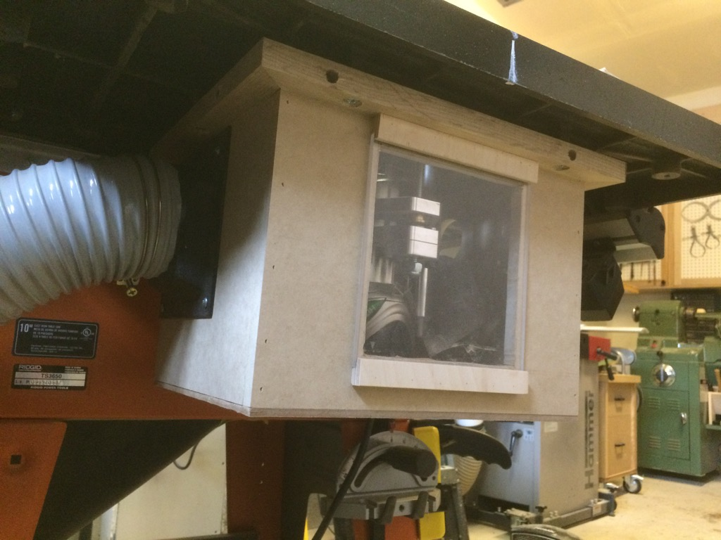 Router Wing Dust Collection Making Splinters